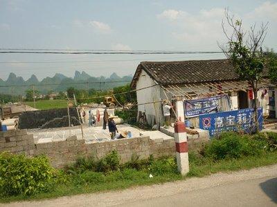vidéki építkezés