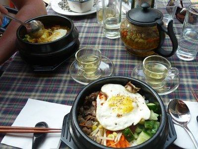 a kóreai ebéd