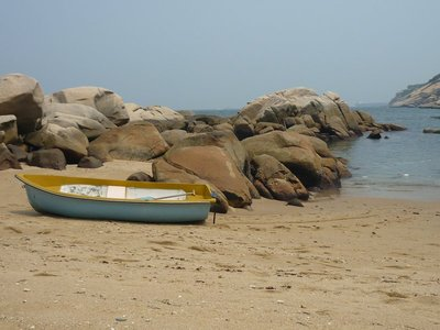 csendélet csónakkal