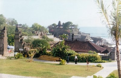 Tanah Lot from the village