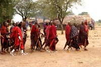 Massai men