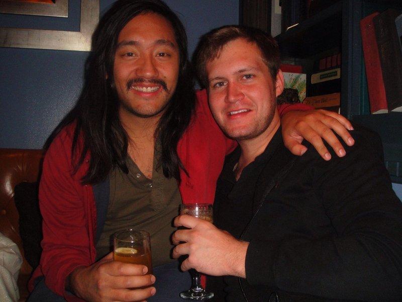 Brendan Gibson and myself