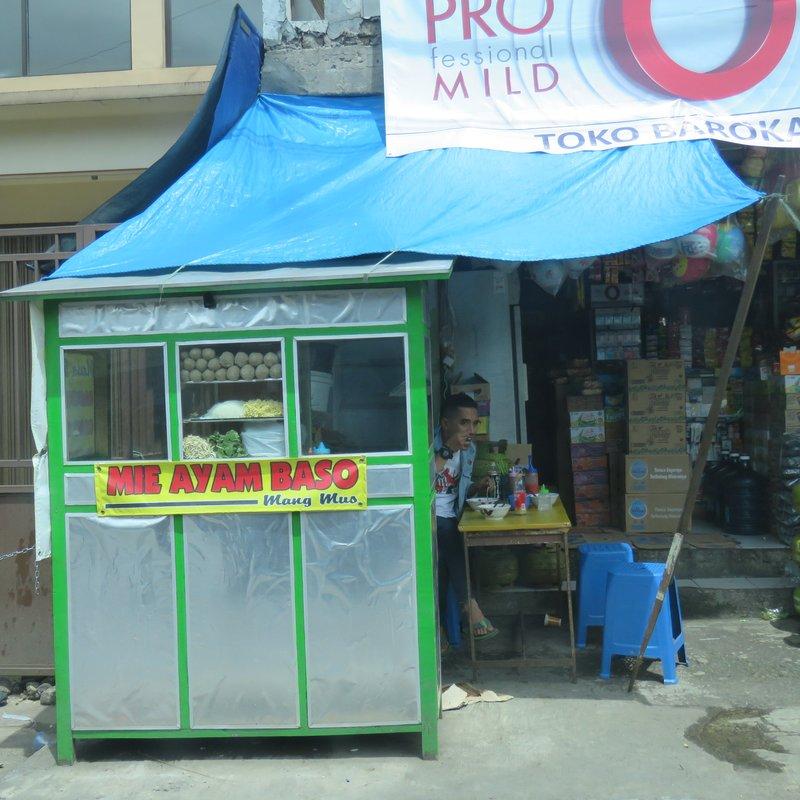 Simple food stall