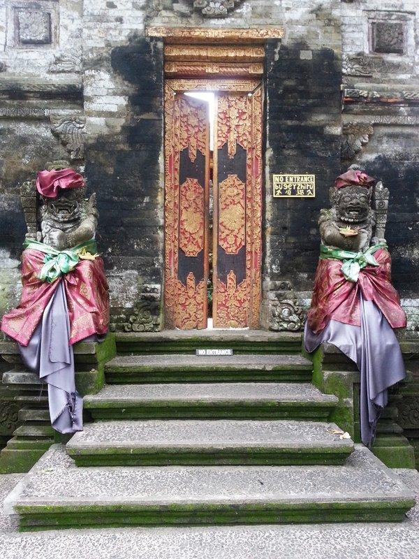 Doors of Ubud Royal palace