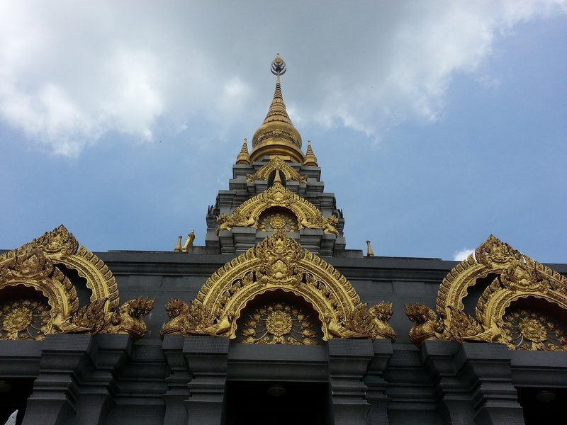 Roof of Phra Borommathat Chedi Si Nakharin