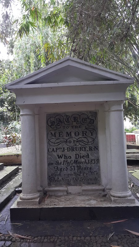 Dutch tombstone