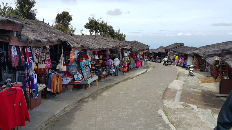 Rows of shops