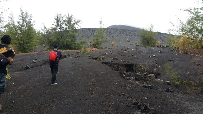 The famous volcano
