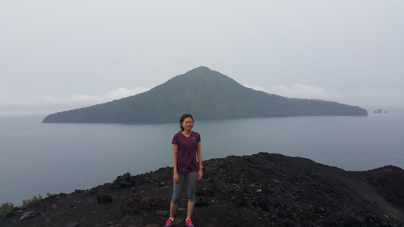 View of an old part of Krakatau