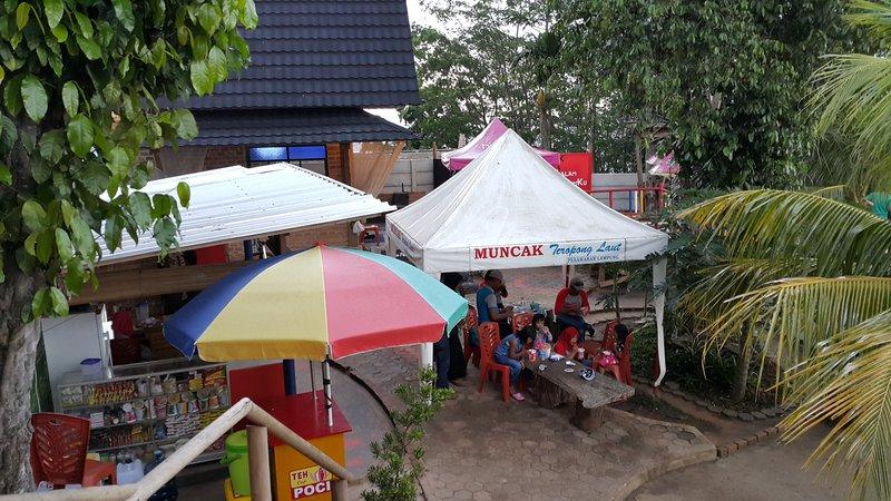 Muncak rest area