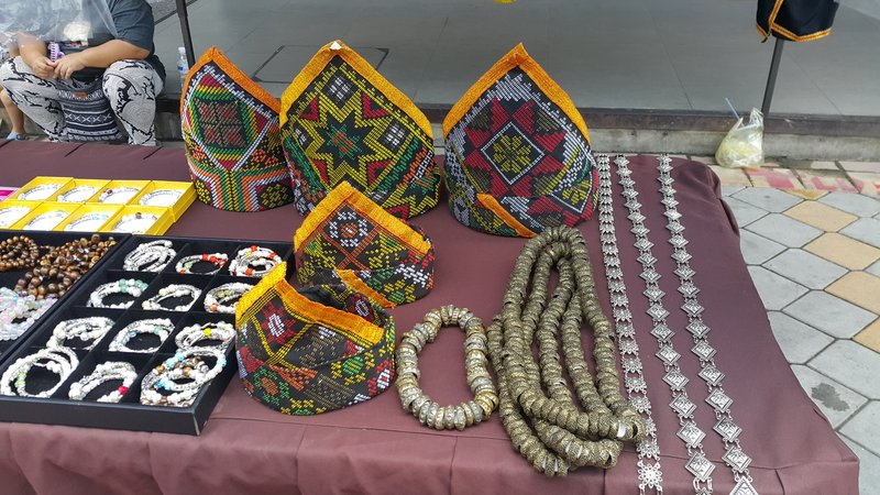 Kadazan costume accessories