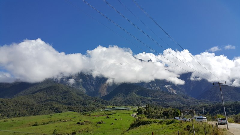 Foot of mount Kinabalu