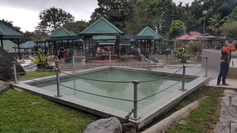 Hot spring water