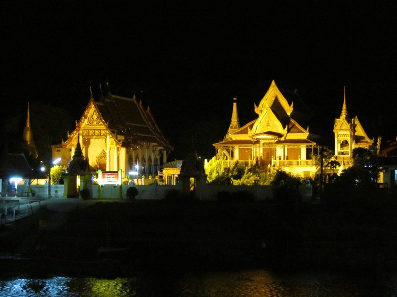 Night view of temple