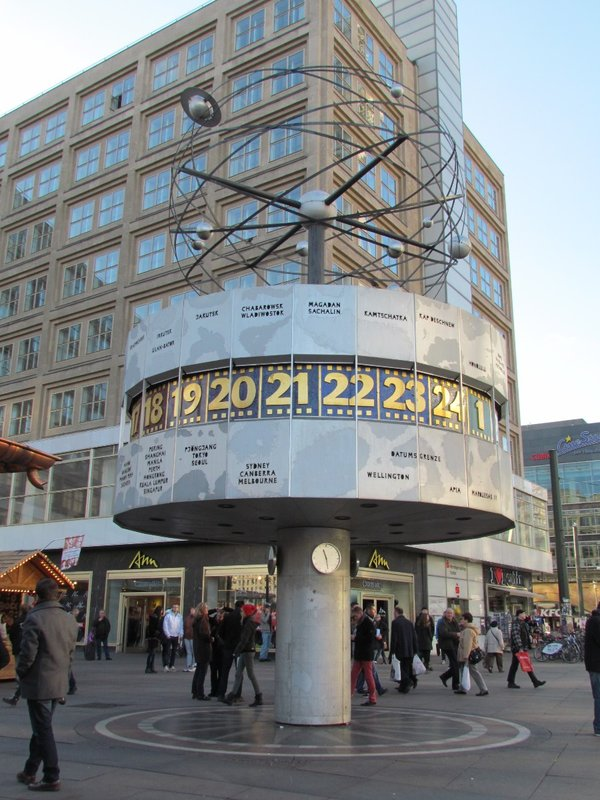 World Clock at Alexanderplatz