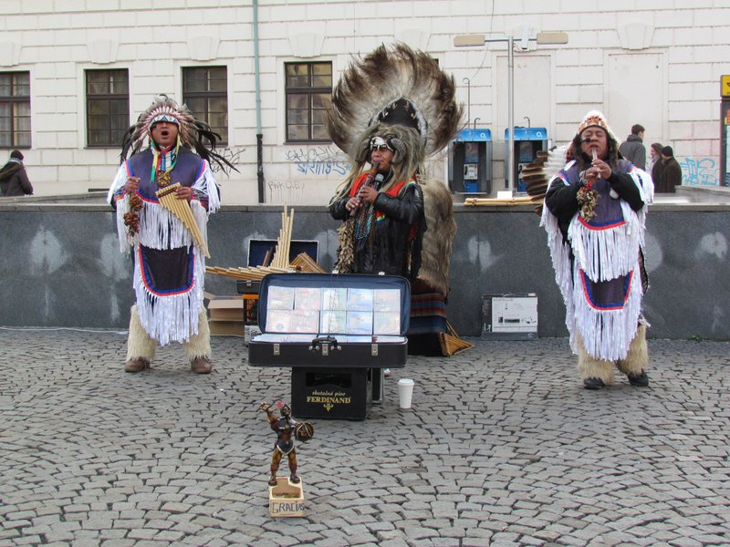 American Indian entertainers