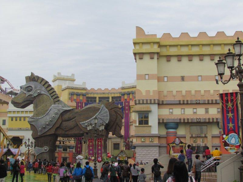 Trojan Castle