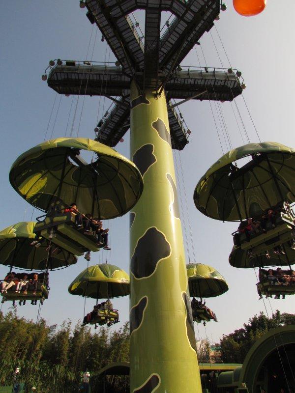 Parachute ride