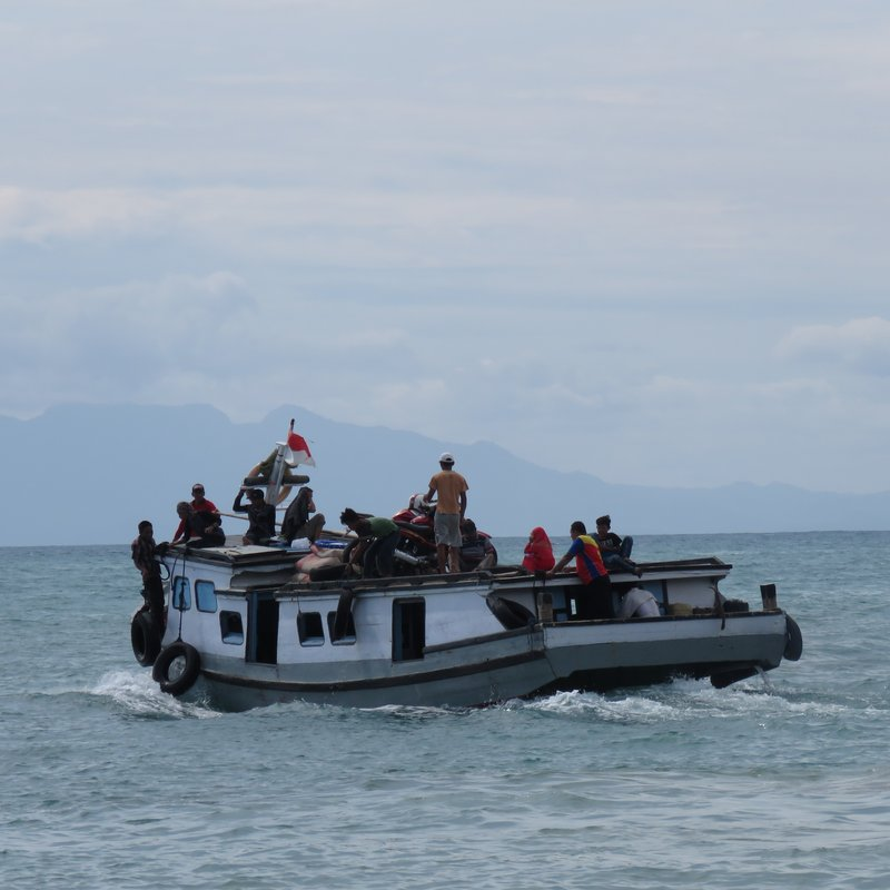 Ferry to small island