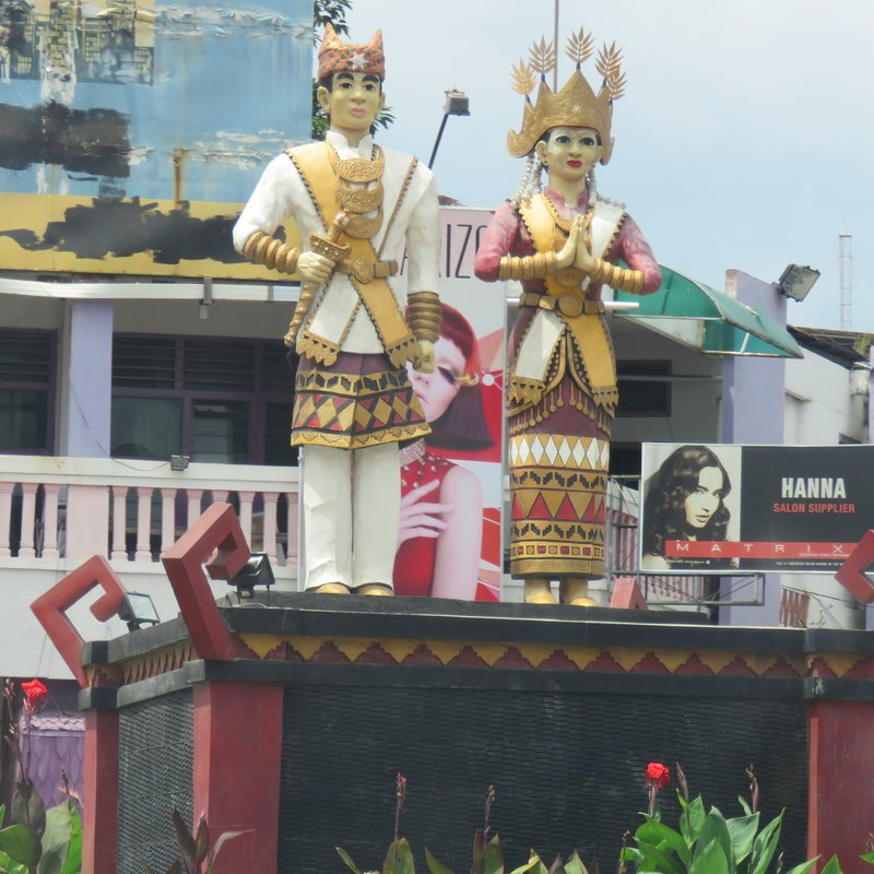 Traditional costume of Lampung people