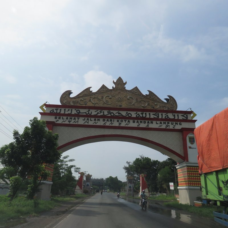 Gateway to Lampung city