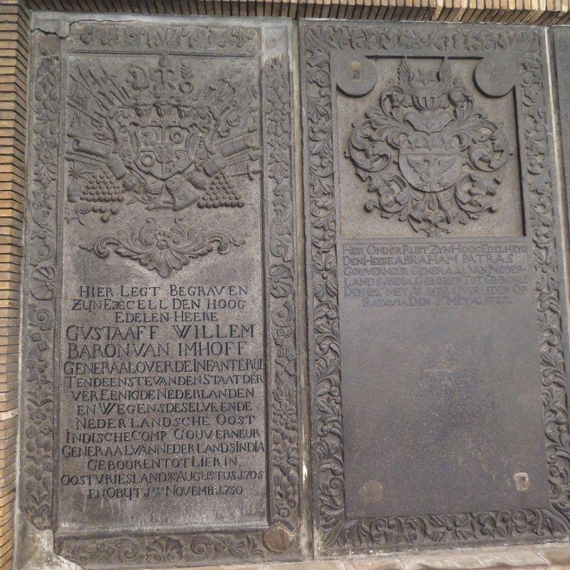 Dutch plaque