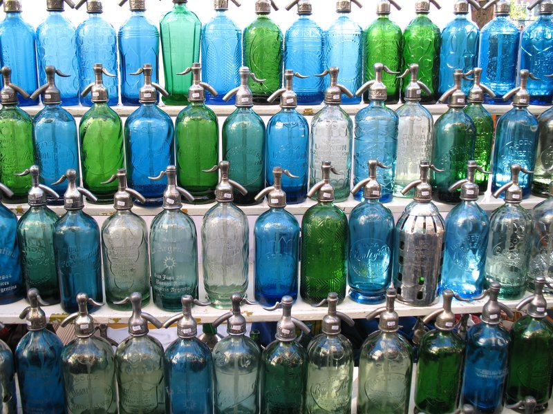 Colored Soda Siphons