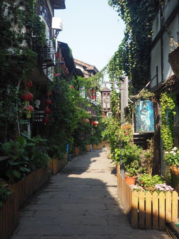 Old town at Chongqing