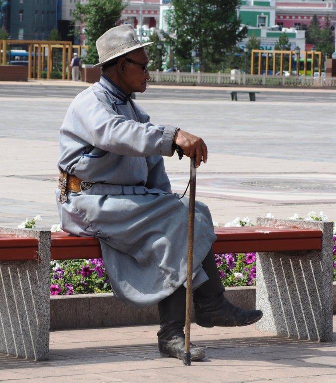 Patient Mongolian