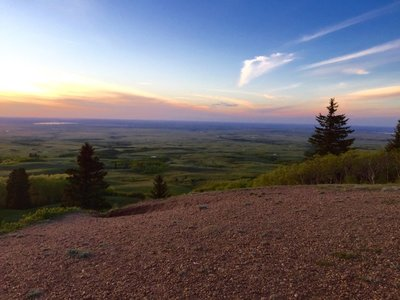 Cypress Hills Sunset
