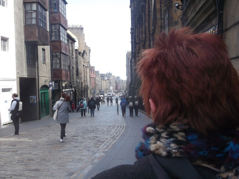 Another day walking down the Royal Mile