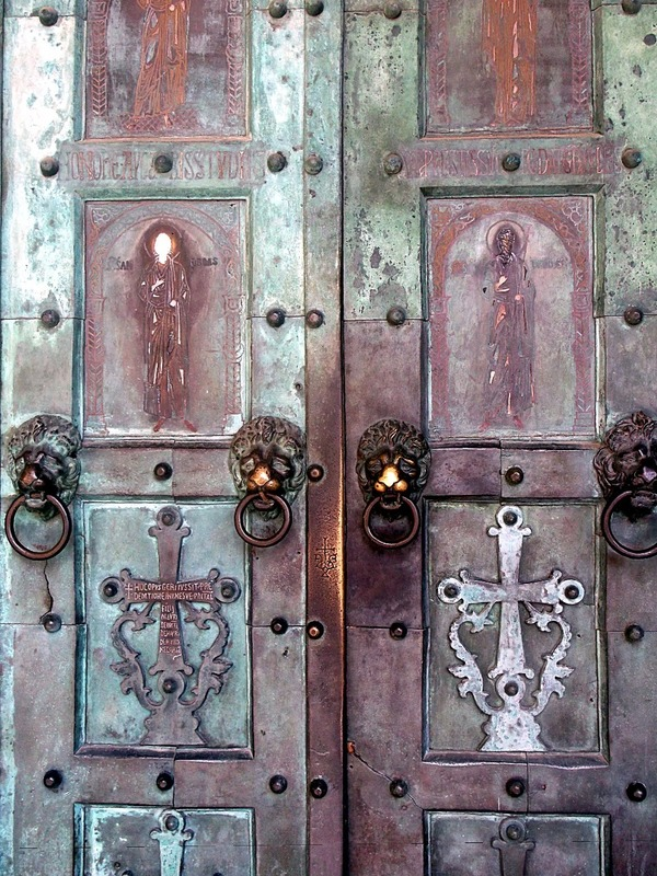 with a front door that was cast in 1065