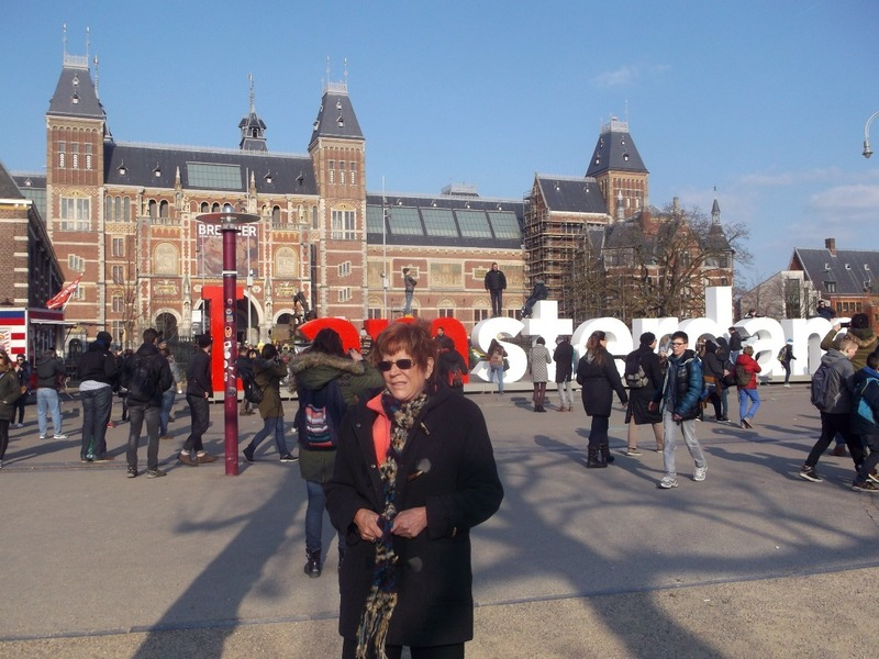 Outside the Rijksmuseum