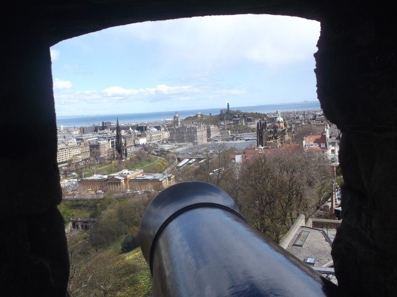 seen from cannon placements