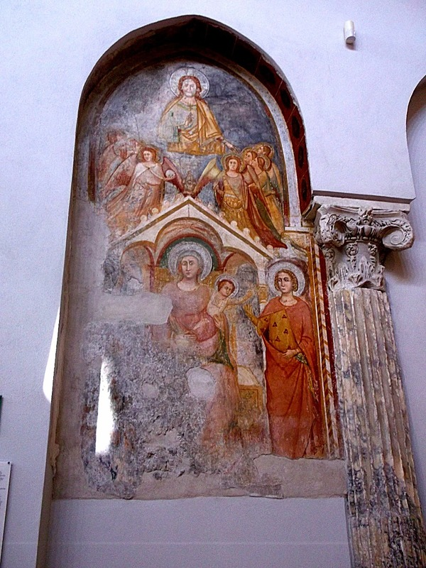 13th century  wall painting #1