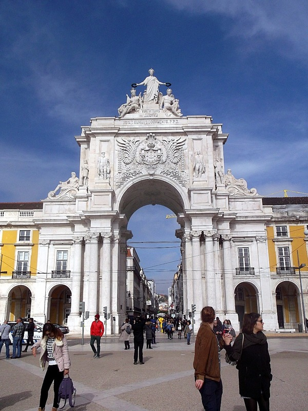 built to commemorate the rebuilding of Lisbon