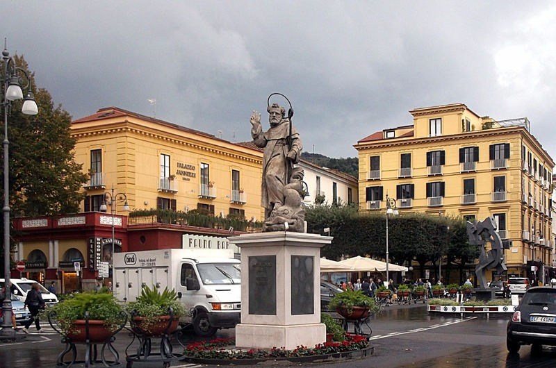 St. Anthony in main square of Sorrento