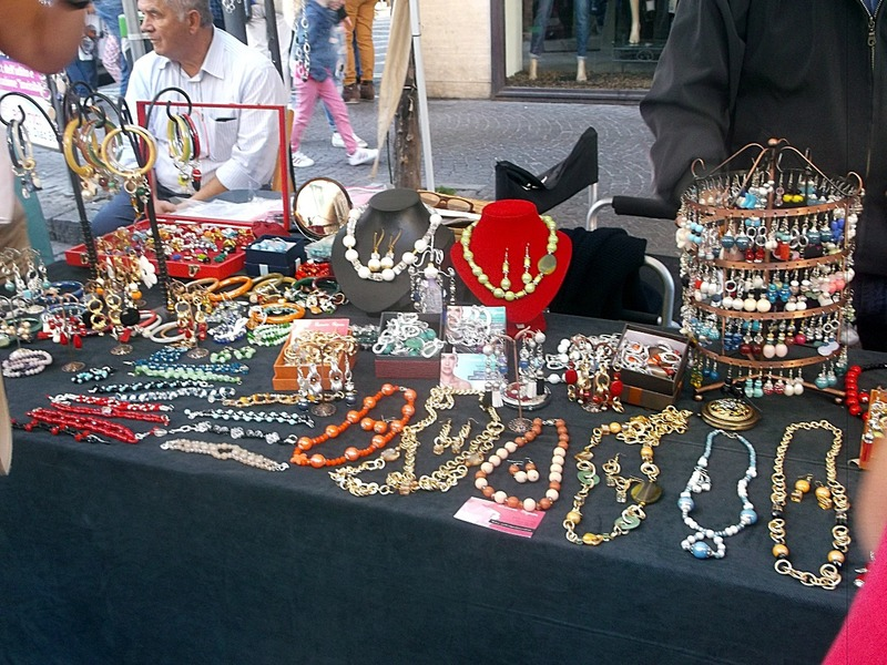 and handbags and jewelry