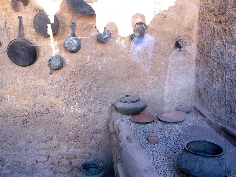 2000 year old kitchen implements