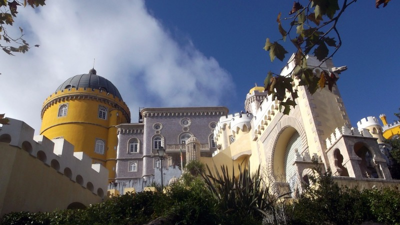 upon which sits the Pena Palace