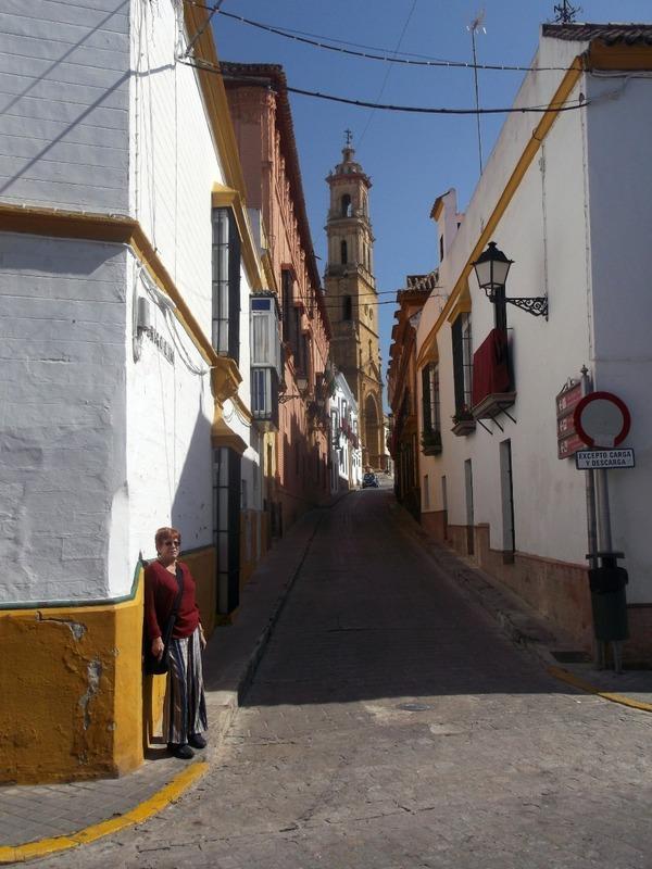 Just standing on a corner in Utrera