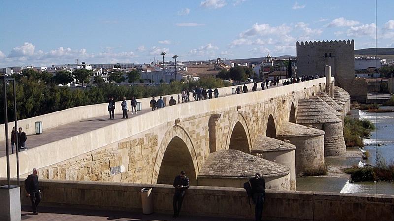 1st century Roman bridge from city side