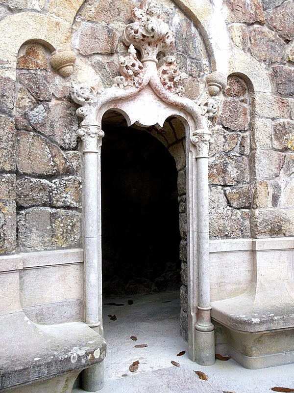 and this doorway into the underground tunnels