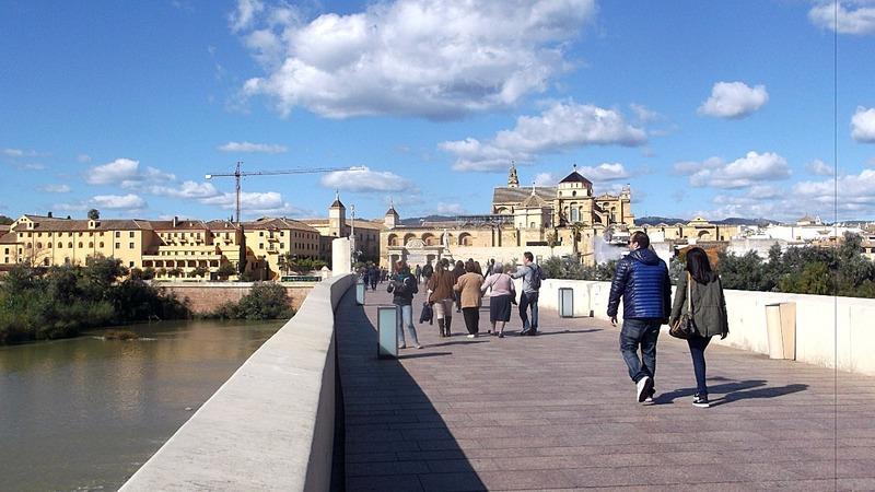 Walking back into Cordoba