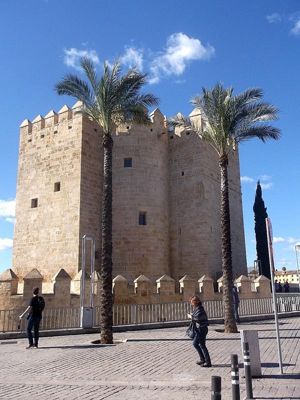 12th century Calahora tower protects bridge