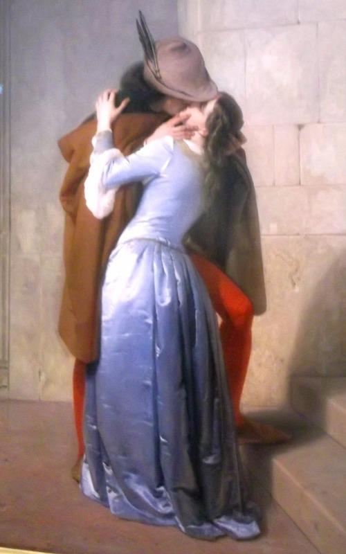 the kiss by Francesco Hayez 1859
