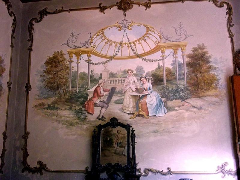 inside the palace