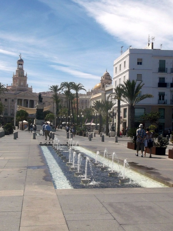this is the first view of Cadiz