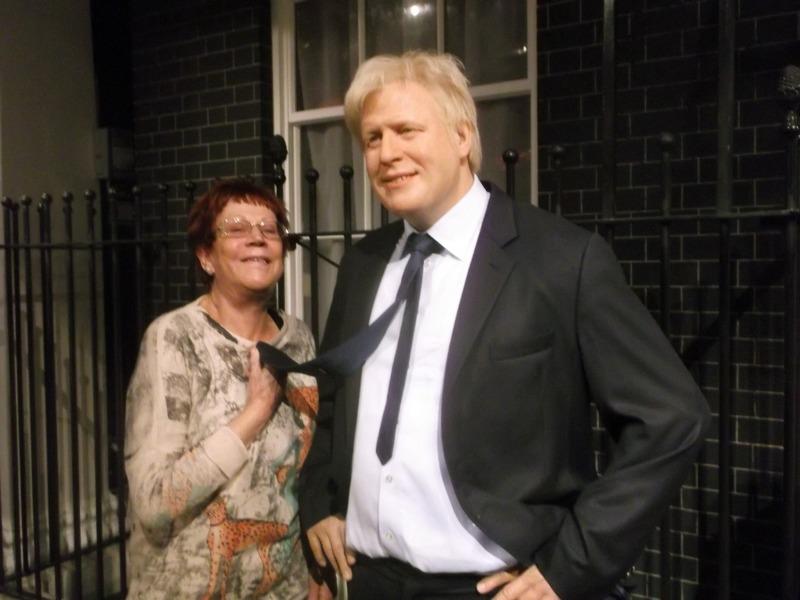 flirting with Boris
