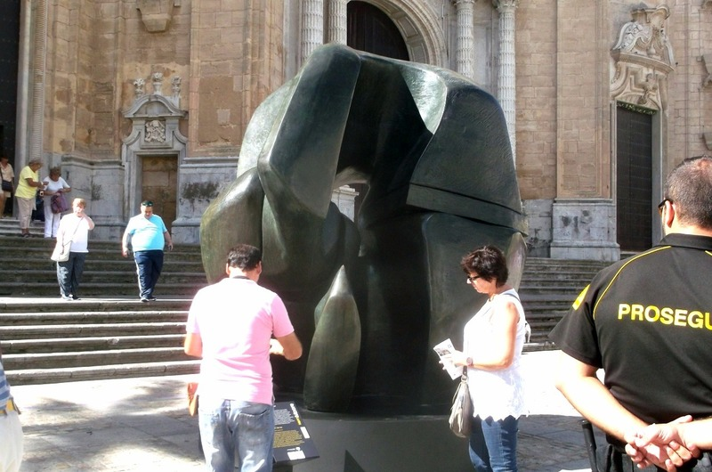 presently host to Henry Moore sculptures